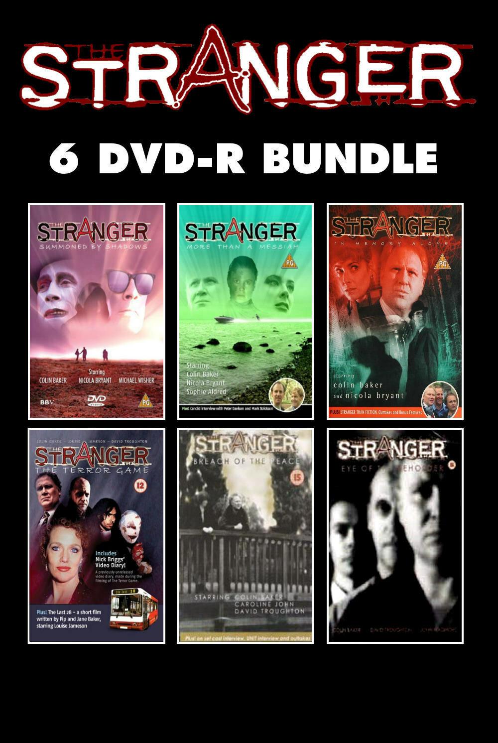 The Stranger Series Bundle 6 DVDs