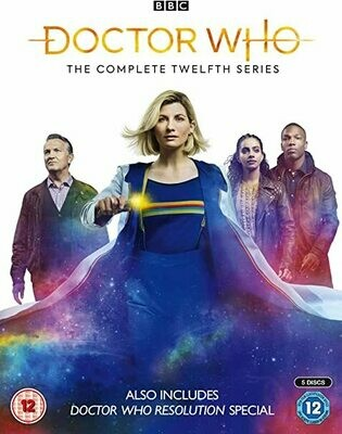 AMAZON LINK Doctor Who: Complete Series 12 DVD