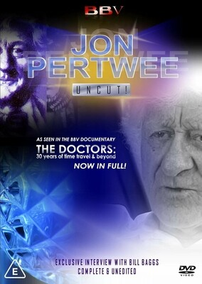 Jon Pertwee: Uncut DVD (DVDR)