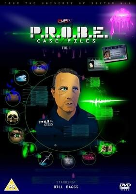 PROBE Case Files - Volume 1 (DVD-R)