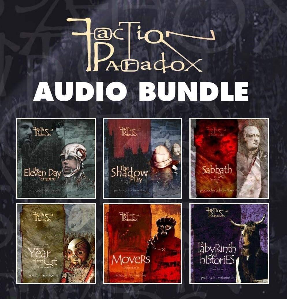 Faction Paradox Protocols 6 Audio Bundle (AUDIO DOWNLOAD) SAVE MONEY