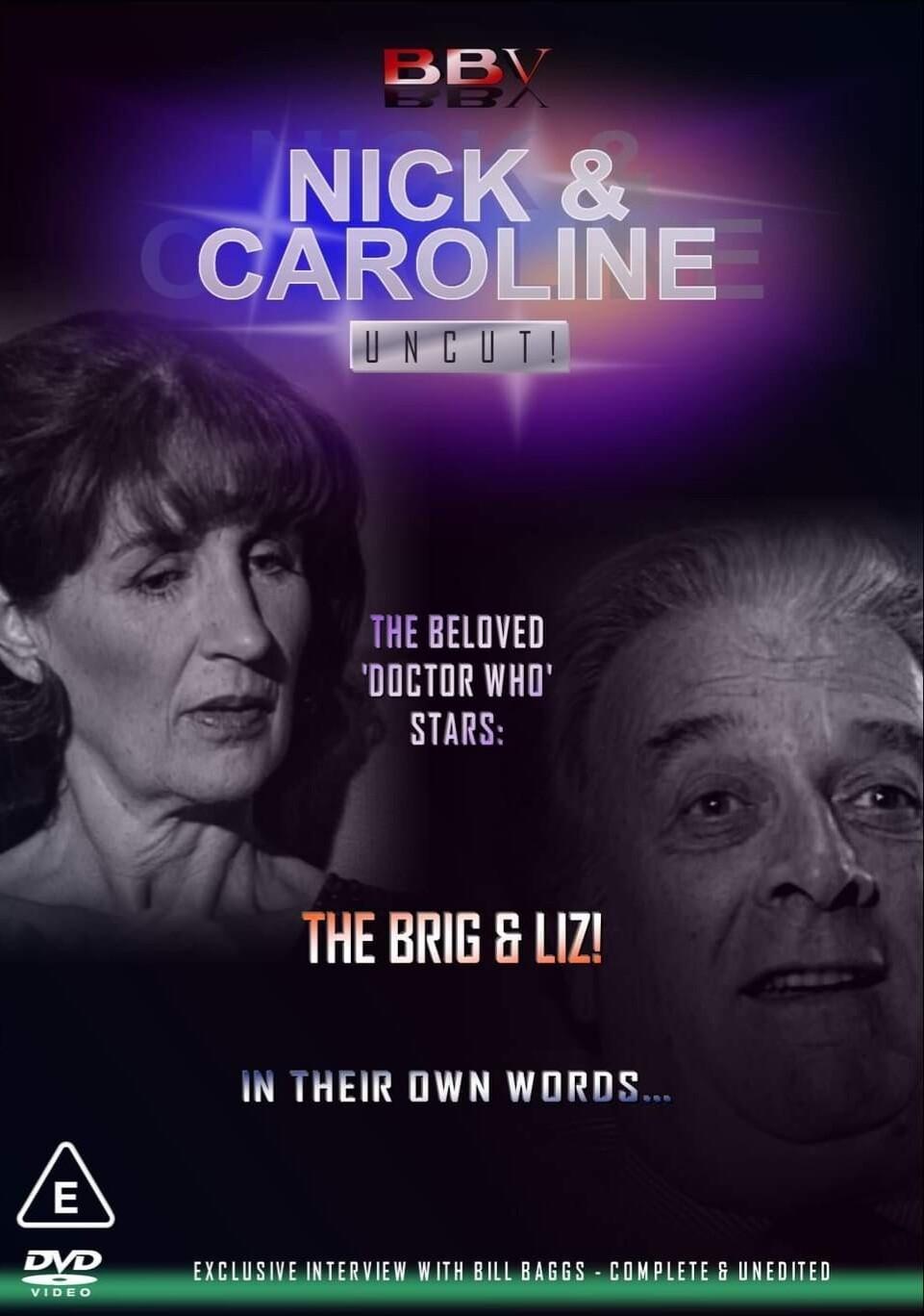 Nick & Caroline: Uncut DVD (DVDR) (Pre-order)