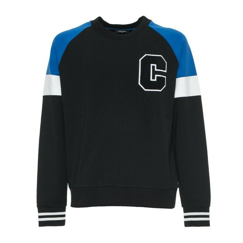 Calvin Klein fekete, férfi pulóver sweatshirt