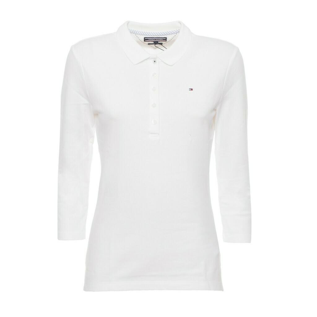 Tommy Hilfiger galléros női póló fehér