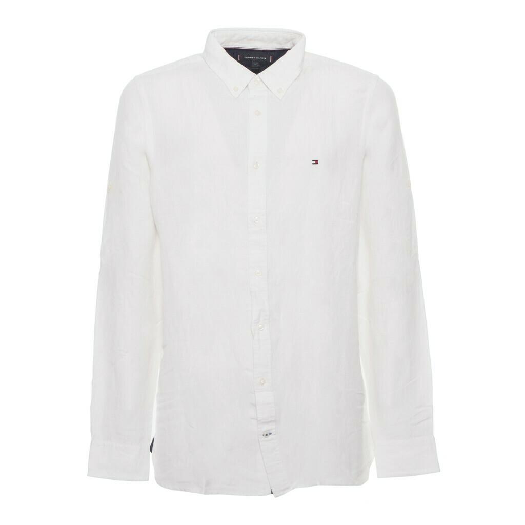 Tommy Hilfiger fehér, nyári, férfi ing