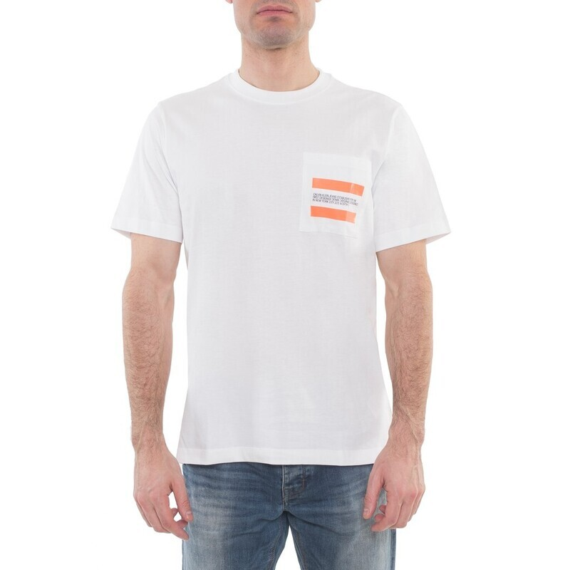 Calvin Klein Jeans férfi póló fehér