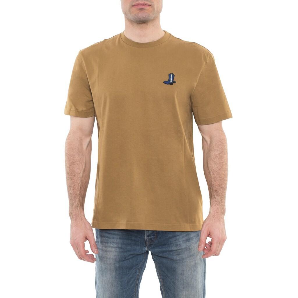 Calvin Klein Jeans férfi póló barna