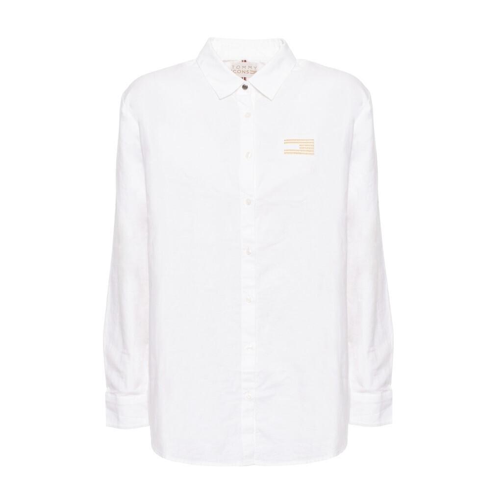 Tommy Hilfiger Icons fehér női ing hosszú ujjú