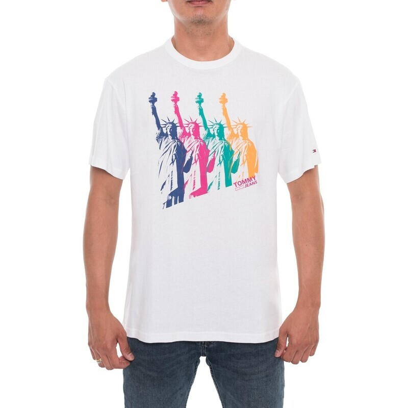 """Tommy Jeans férfi póló """"Liberty Statue"""""""