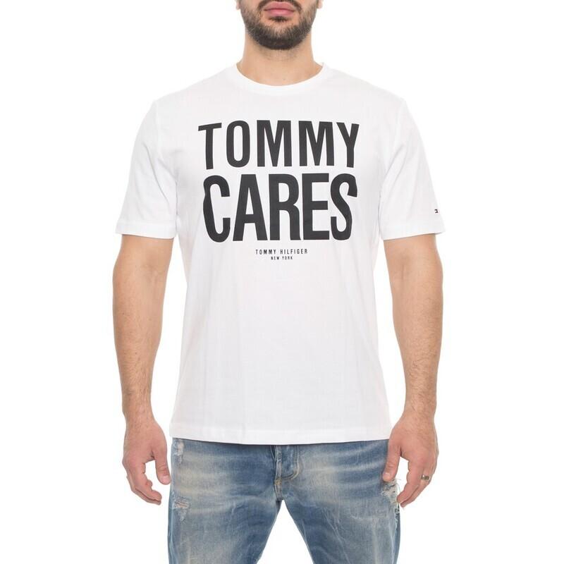 """Tommy Hilfiger férfi póló """"Tommy cares"""""""