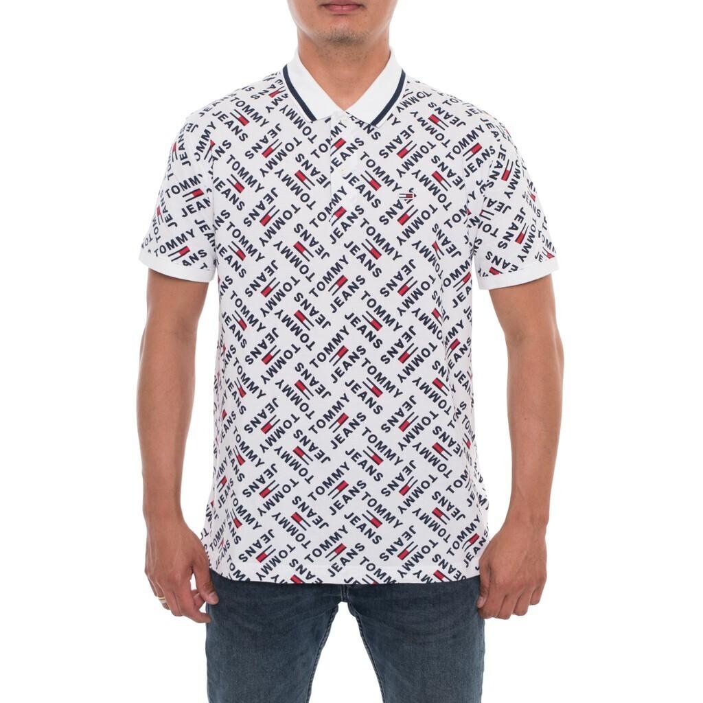 """Tommy Jeans férfi galléros póló """"Logo"""""""