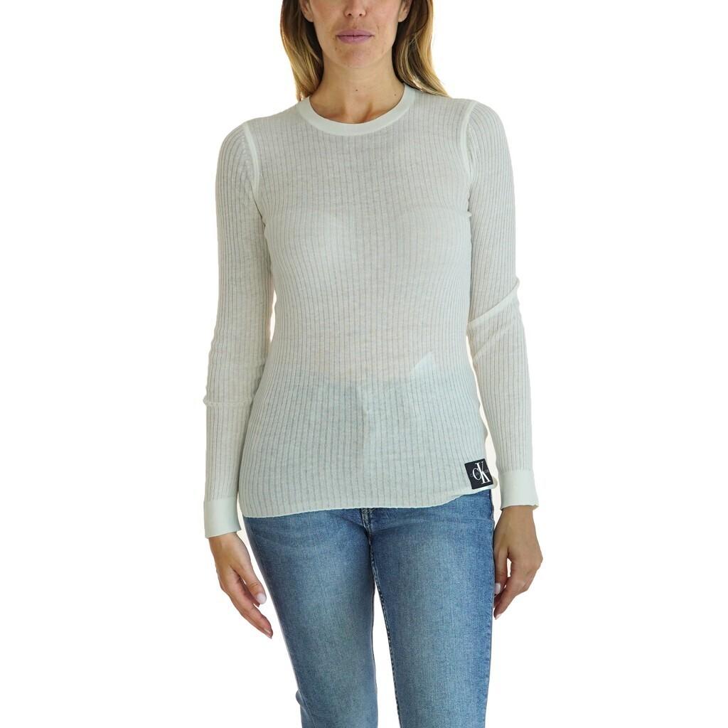 Calvin Klein Jeans vékony női felső silk blend logo