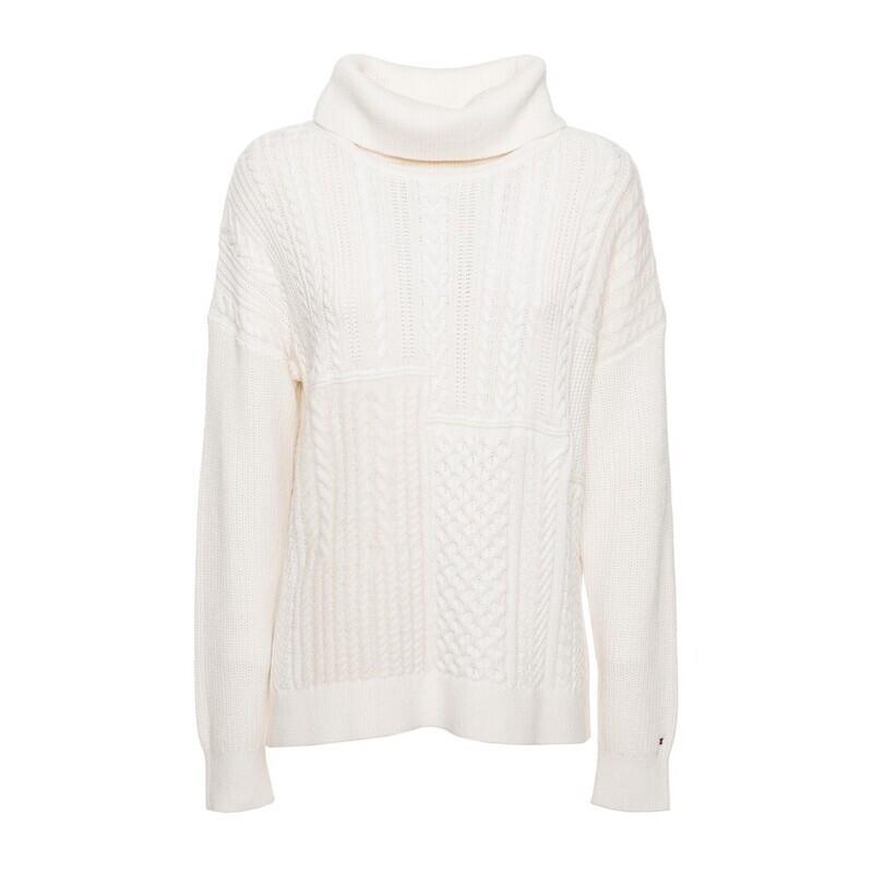 Tommy Hilfiger kötött női pulóver garbós