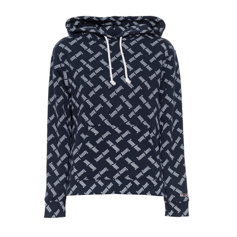 Tommy Jeans női kapucnis pulóver sweatshirt