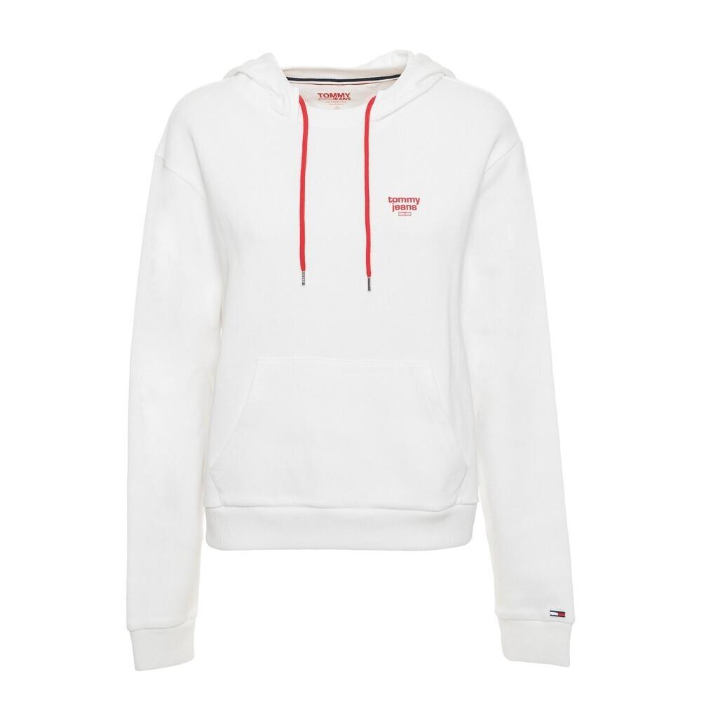 Tommy Jeans fehér női kapucnis pulóver sweatshirt