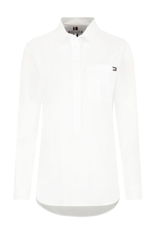 Tommy Hilfiger fehér, női ing, blúz csíkos