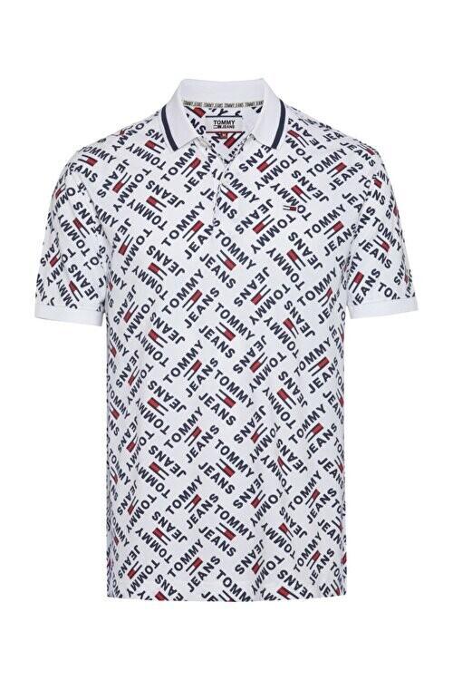 """Tommy Hilfiger Jeans férfi galléros póló """"Logo"""""""
