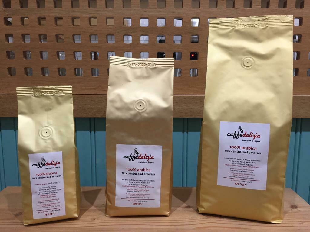 Miscela 100% Arabica Mix Centro-Sud America (Tostatura Classica)
