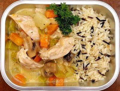 Chaudrée de poulet/Chicken stew