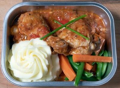Poulet Cacciatore/Cacciatore Chicken