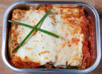 Lasagne végétarienne/Vegetarian lasagna