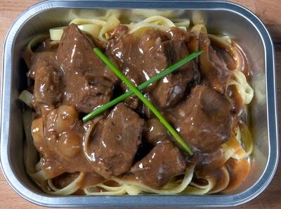 Boeuf Bourguignon/Beef bourguignon