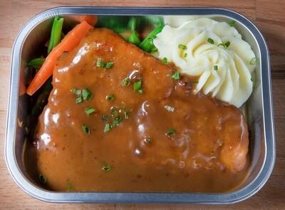 Escalope de poulet marsala/Marsala chicken tenderloin