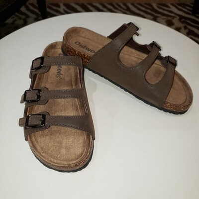 "Brown Strappy ""Birks"""