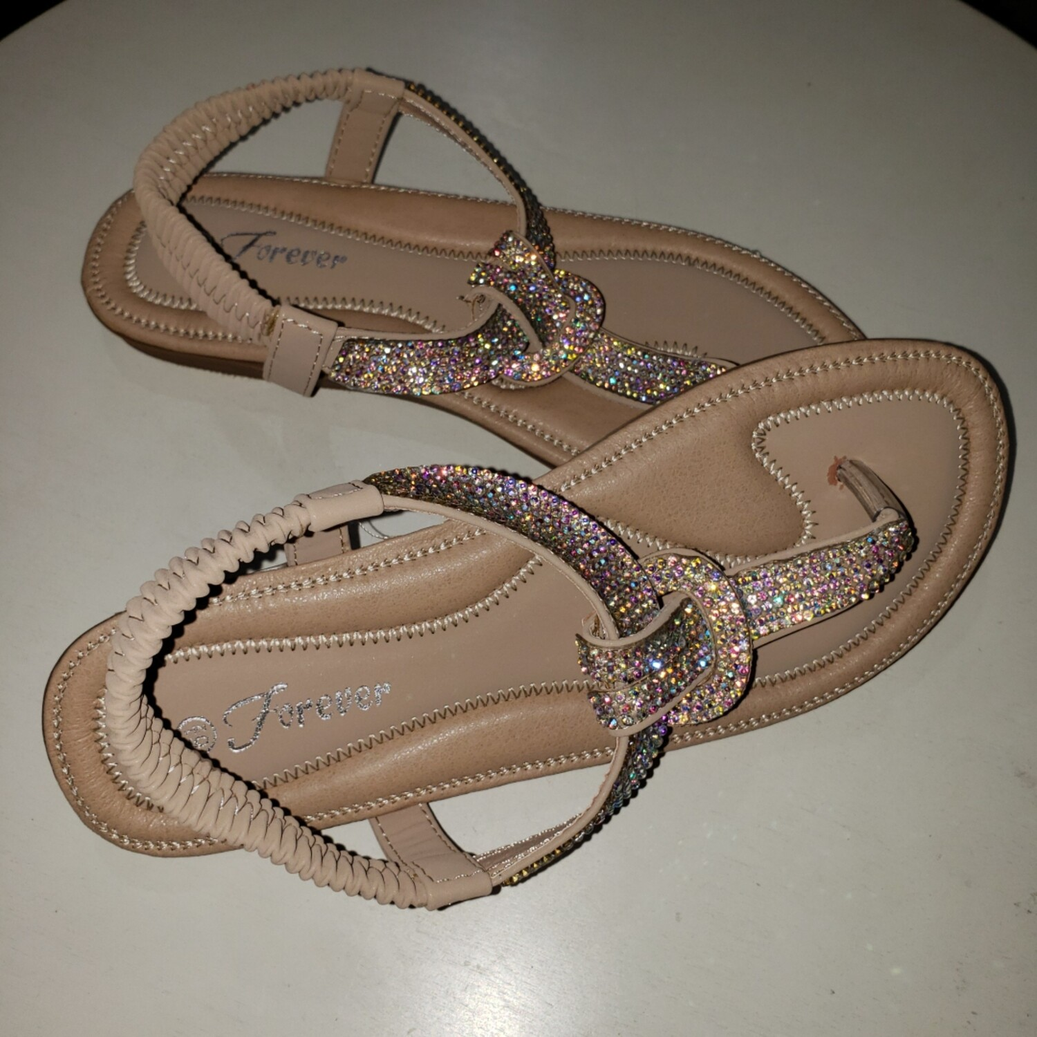 Bling Low Sandal