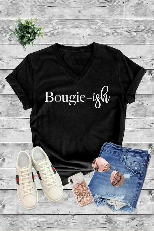 bougie-ish tee