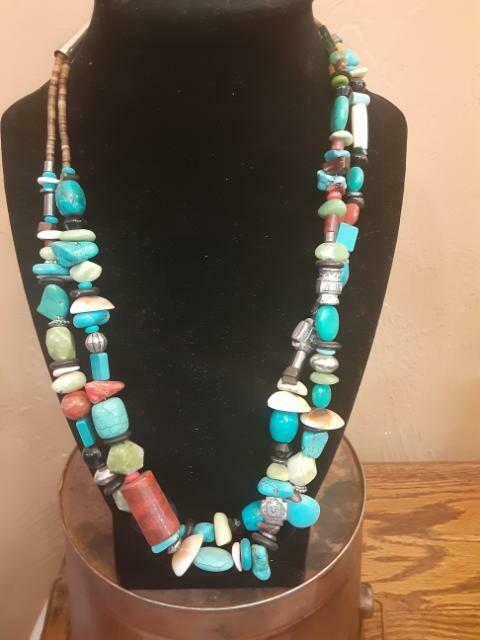 Handmade treasure necklace 2