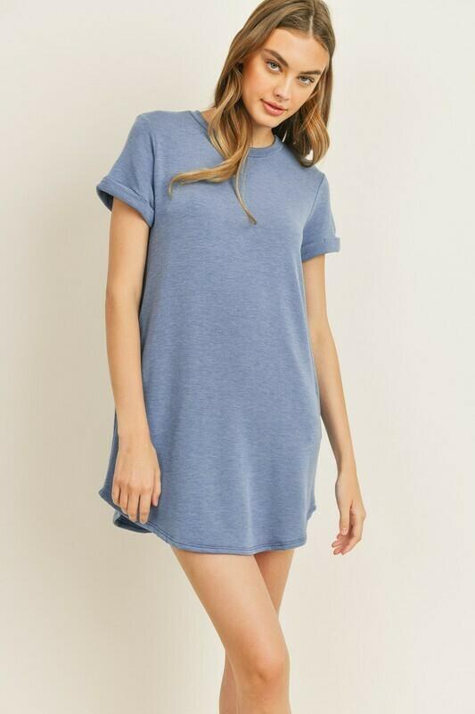 Terry T-Shirt Dress