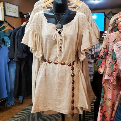 Loose Fit Tunic Dress