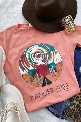 Wander Free Tee