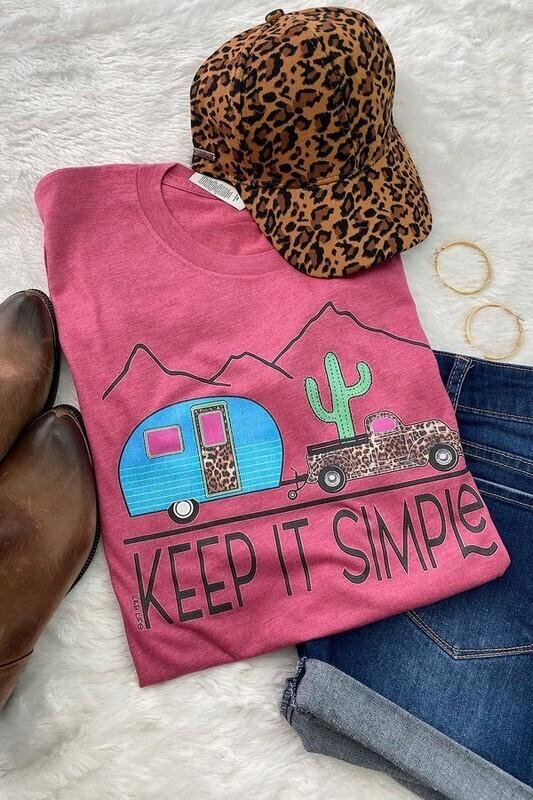 Keep It Simple Tee