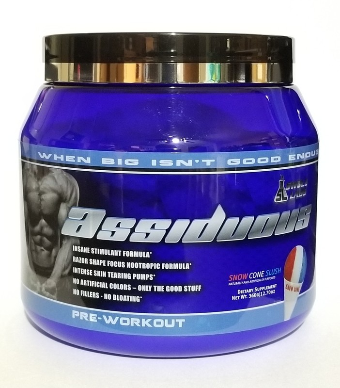 SWOLE LABS - ASSIDUOUS (LIMITED TIME SPECIAL PRICE!! ALSO BUY 2 GET 1 FREE)