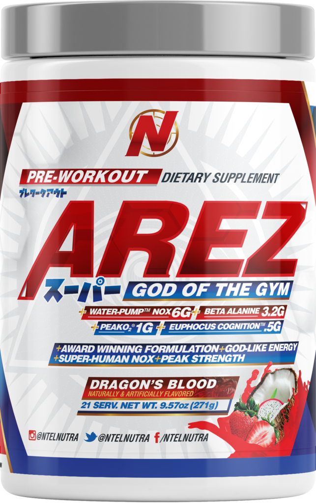 NTEL PHARMA - AREZ SUPER (NEW!!) : THE GOD OF THE GYM