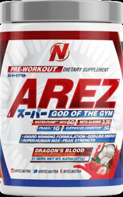 NTEL PHARMA - AREZ SUPER (NEW!!) : THE GOD OF THE GYM