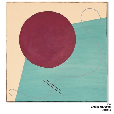 Medium Geometric Abstraction #201
