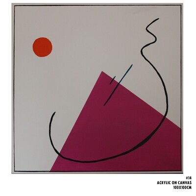 Large Geometric Abstraction #14