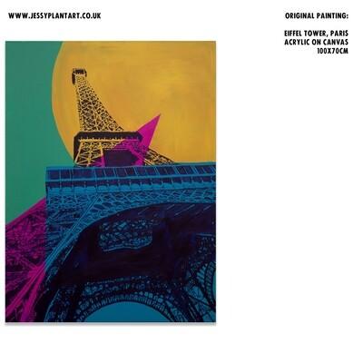 Eiffel Tower, Paris (Painting)