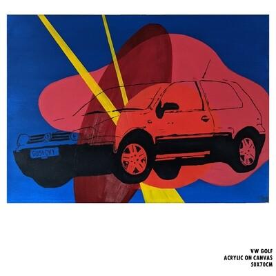Volkswagen Golf (Painting)