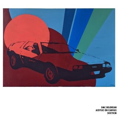 DMC DeLorean (Painting)