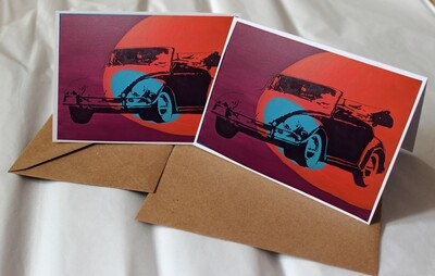 Greeting Cards Vehicle Collection