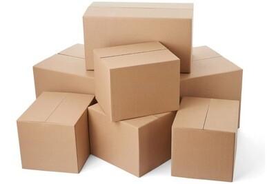 SET 50 Cutie de carton in 5 straturi CO5.  Dimensiune 45X35x30 cm.