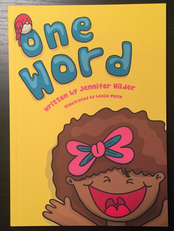 One Word by Jennifer Wilder
