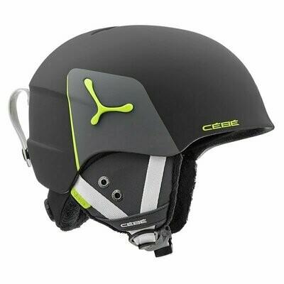 2019 Шлем CEBE Suspense Deluxe Matt Black Lime  р. 51-53