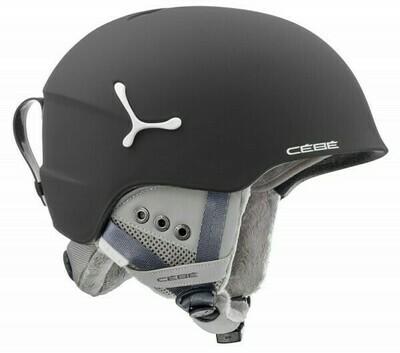 2019 Шлем CEBE Suspense Deluxe Matt Black White