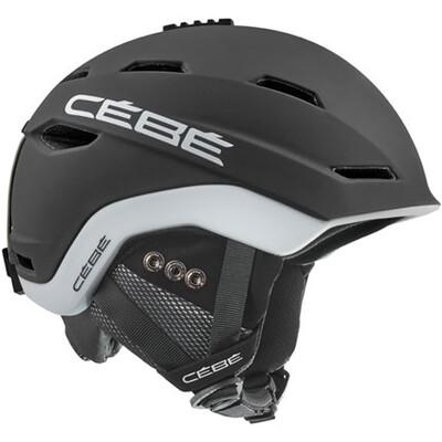 2019 Шлем CEBE Venture Mat Black White
