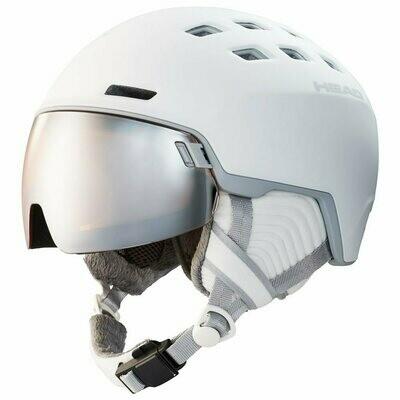 2020 Шлем с визором HEAD RACHEL бел. р. 52-55